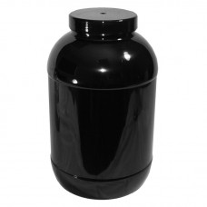 PET Jar - 6900ml Black