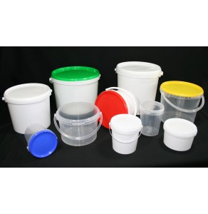 Tapered Round Buckets