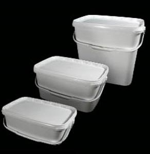 Rectangular Plastic Buckets