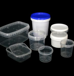 Plastic Tubs - Small Volume