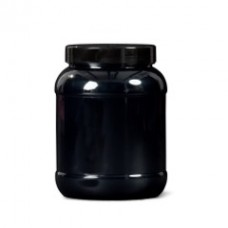 PET Jar - 2434ml Black
