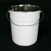 Tapered Tinplate Pails - 6 Litre